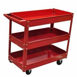 Heavy Duty Steel Trolley Mechanic Utility Tool Cart Service
