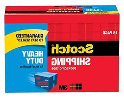 "Scotch Heavy Duty Shipping Packaging Tape, 3"" Core, 1.88"" x"