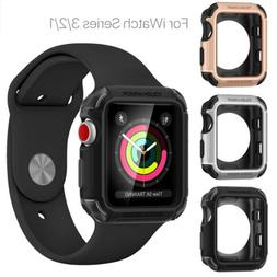 Heavy Duty Tough Armor Case Cover For iWatch Apple Watch Ser