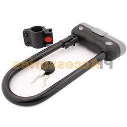 Tuff Bro® Heavy Duty 14mm U Bar Bike Lock Anti-theft Bicycl