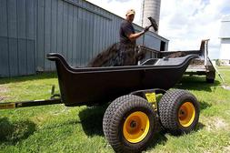 Heavy Duty Utility Trailer Work Dolly Tractor Garden Cart 15