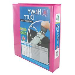 """Avery Heavy-Duty View Binder, 1-1/2"""" One Touch Slant Rings,"""