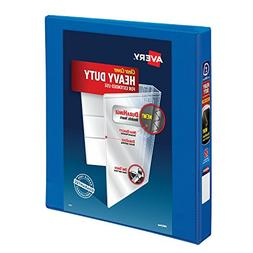 """Avery Heavy-Duty View Binder, 1"""" One Touch Slant Rings, 220-"""
