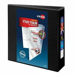 "Avery Heavy-Duty View Binder W/3"" Locking One-Touch EZD Ring"
