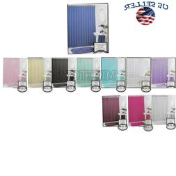 Heavy Duty Vinyl Magnetic Shower Curtain Liner with 12 Metal