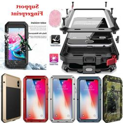 Heavy Duty Waterproof Shockproof Metal Gorilla Glass Case Co