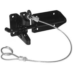 Heavy Duty Wood Gate Gravity Latch with Cable and O-Ring - 2