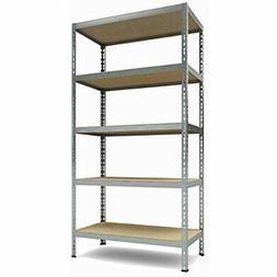 Heavy Standing Shelf Units Duty Shelving 5-Shelf Unit, 1.925