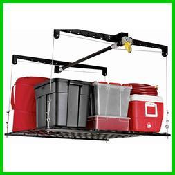 Hoist Heavy Duty Lift Ceiling Storage Garage Hand Crank Pull