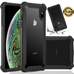 Heavy Duty Shockproof Clear Case For IPhone 11 Pro Max XR XS