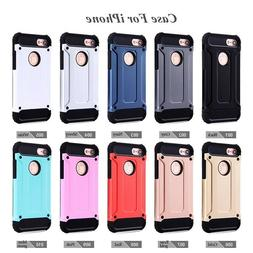 Hybrid Shockproof Heavy Duty Rubber Cover Case Fits In iPhon