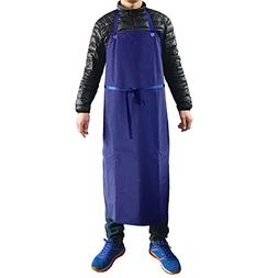 Industrial Apron Heavy Duty Vinyl Waterproof Fish Cleaning M