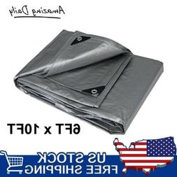industrial silver all purpose water resistant tarps