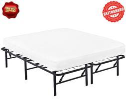 Innovative Metal Platform Base Bed Frame, Queen Size, 80x60