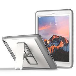 New iPad 2017 9.7 inch Case, YOUMAKER Heavy Duty Kickstand S