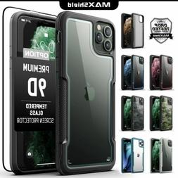 For MAXSHIELD iPhone 11 Pro Max Case Heavy Duty Shockproof C