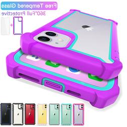 For iPhone 11 Pro Max Heavy Duty Full Shockproof Hybrid Rugg