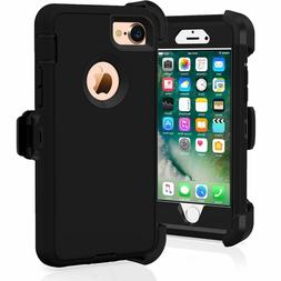 iPhone 6 iPhone 6s Heavy Duty Case w/Holster Belt Clip Stand