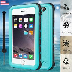 For iphone 8 7 6 Plus Waterproof Case Cover Life Shockproof
