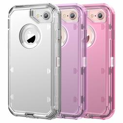 Clear Defender Transparent Case for iPhone 8 Plus XR 7 Plus
