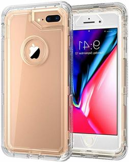 For IPhone 8 Plus / 7 Plus Heavy Duty Protective Clear Case