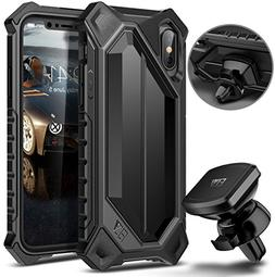 iPhone X Case, ELV iPhone 10 Case High Impact Resistant Rugg