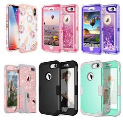 iPhone SE X 6 6S 8 7 Plus XS Max Case Hybrid Rugged Heavy Du