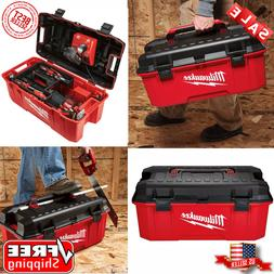 Milwaukee 26 in. Jobsite Portable Work Tool Box Power Tools