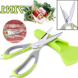 Kitchen Cutter knife Shears Scissors Sharp Heavy Duty 8 Feat