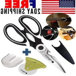Kitchen Shears, Kitchen Scissors and Ultra Sharp Premium Hea