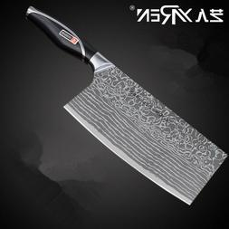 Knife Stainless Steel Kitchen Heavy Duty Cleaver Slicing Che
