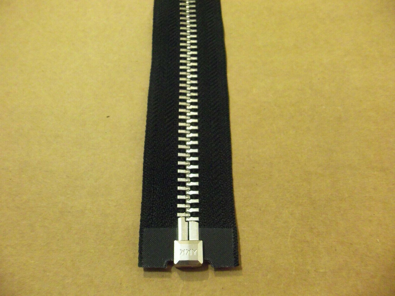 #10 Black Heavy Duty / Zipper