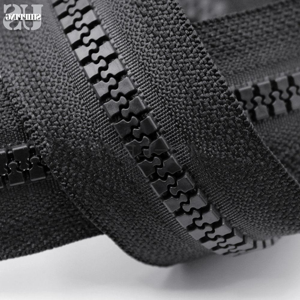 #10 Duty Double Metal Slider Marine Grade Zipper