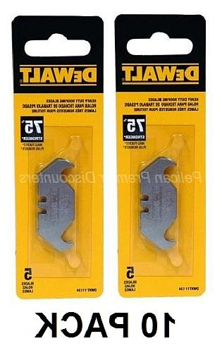 10 pack heavy duty roofing blades dwht11134