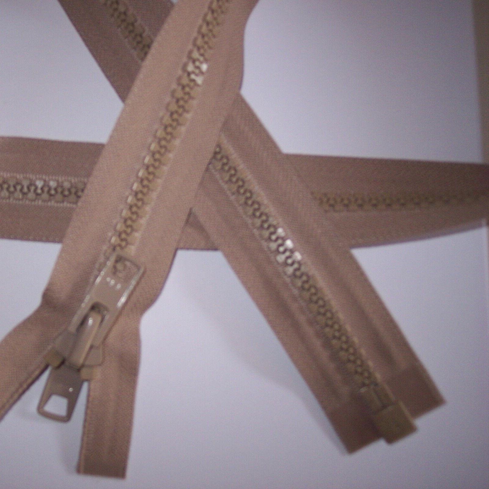 #10 YKK Zipper Canvas BEIGE #573