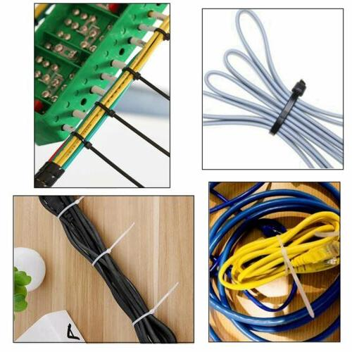 """100 4'' 8"""" 10"""" 12"""" 14"""" 24"""" Plastic Cable Heavy Duty Wrap Wire"""