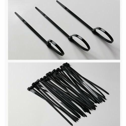 "100 pc 4'' 10"" Plastic Zip Heavy Duty Wire"