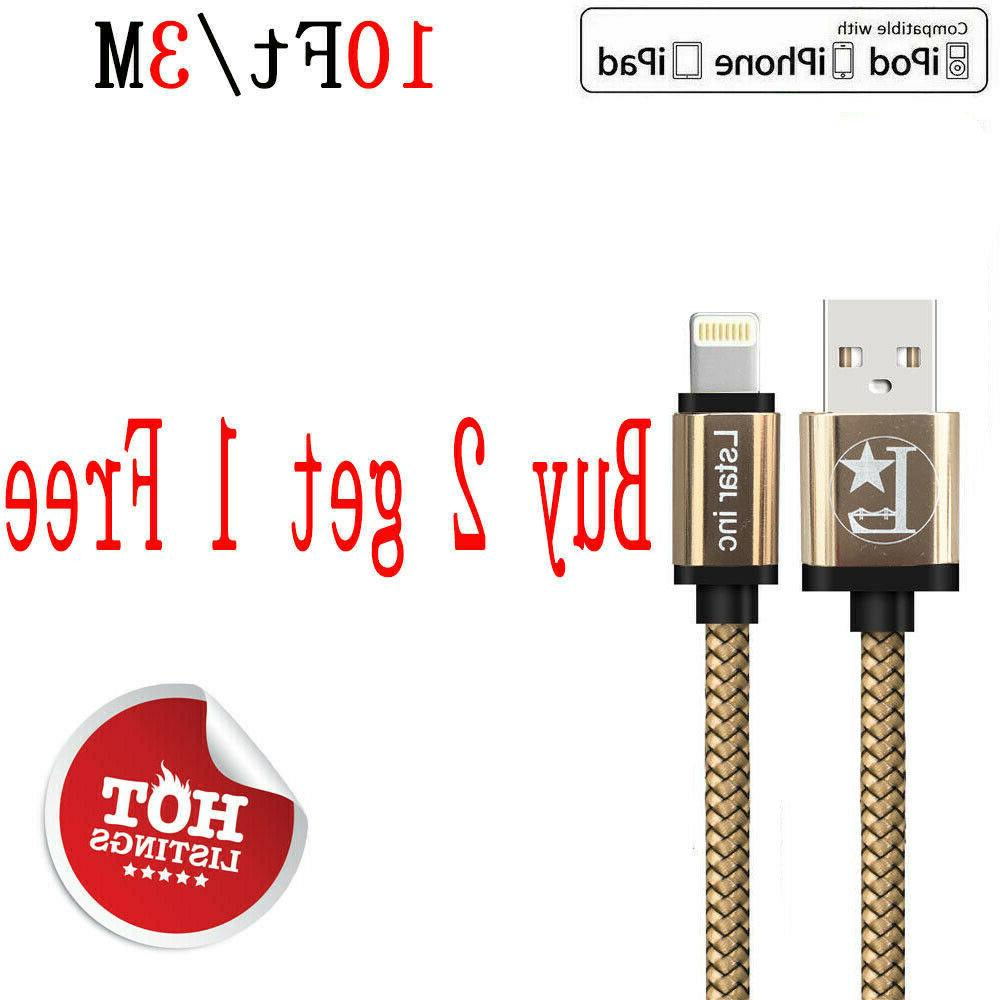 10ft lightning cable heavy duty for iphone