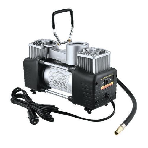 12V Double Cylinder Compressor Inflator