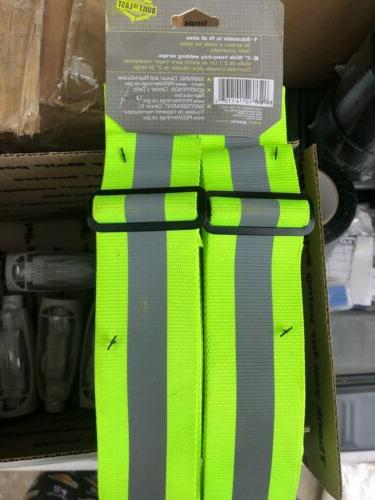 Custom LeatherCraft Hi-Viz Suspenders