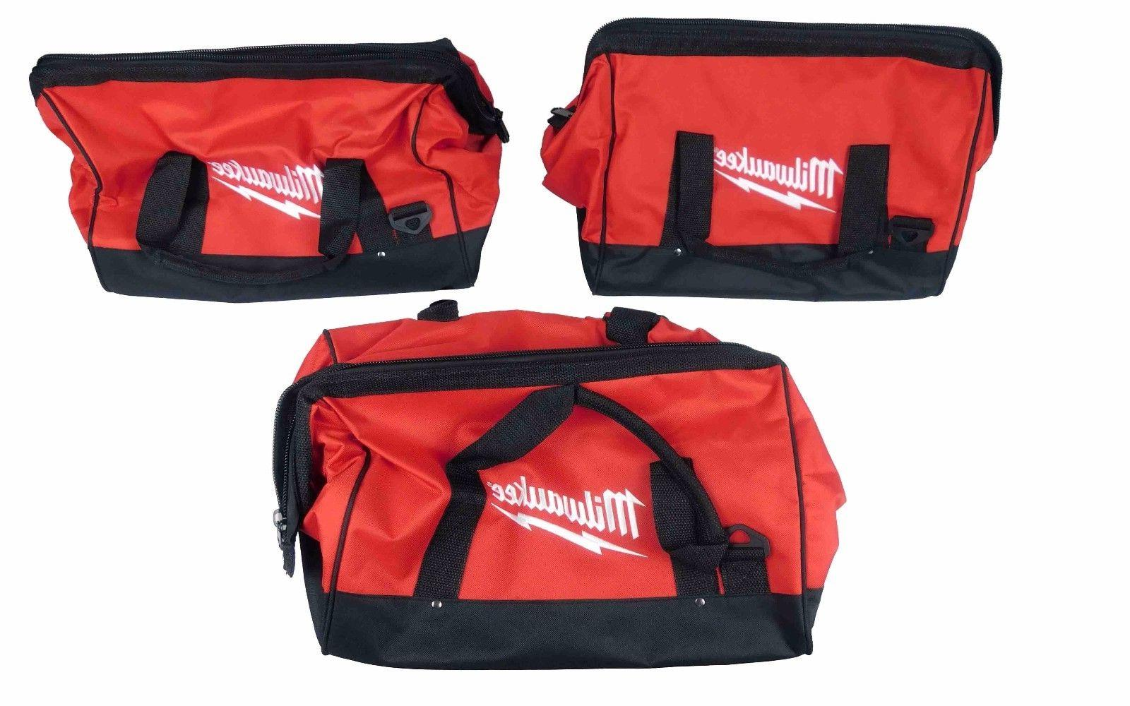 Milwaukee 6-Pocket Duty Industrial Carrying Tool Bag