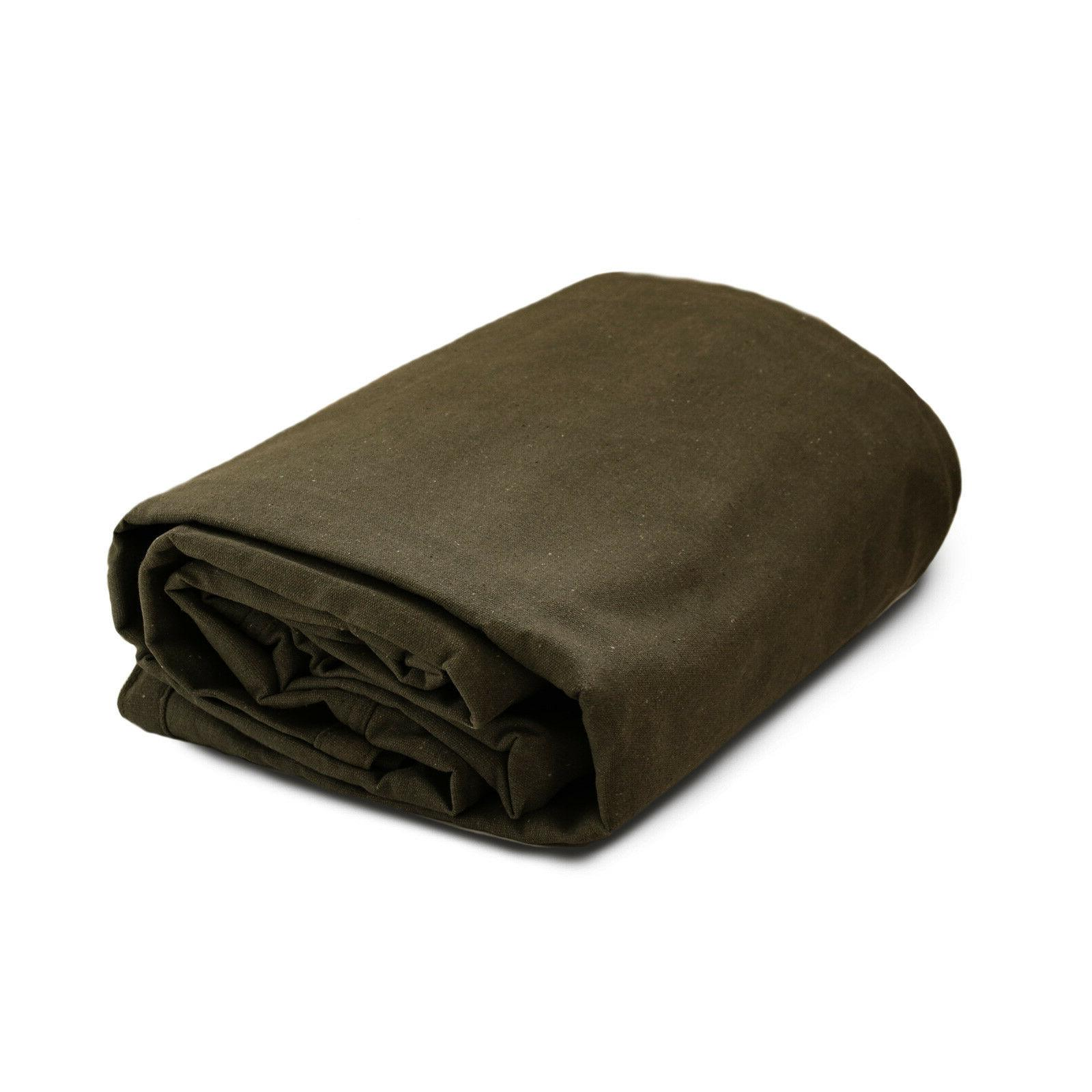 Heavy Duty Tarps 18 Olive - Resistant Tarpaulin