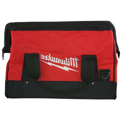 17 inch heavy duty canvas tool bag