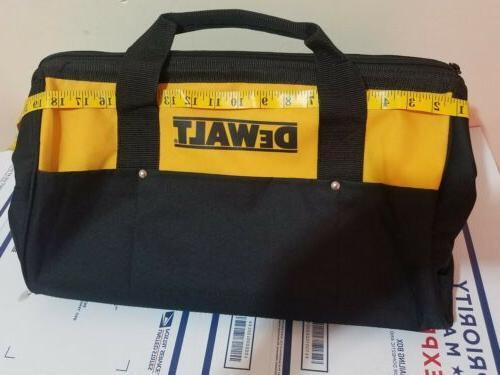 19x13x12 pocket heavy duty nylon canvas contractor