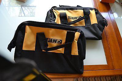 """2 New 11"""" Dewalt Heavy Duty Tool bag for 20v 18v DCB201 DCB2"""
