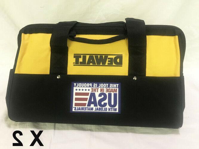 2 heavy duty nylon tool bags 18
