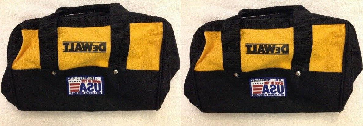 2 heavy duty tool bags 13 w