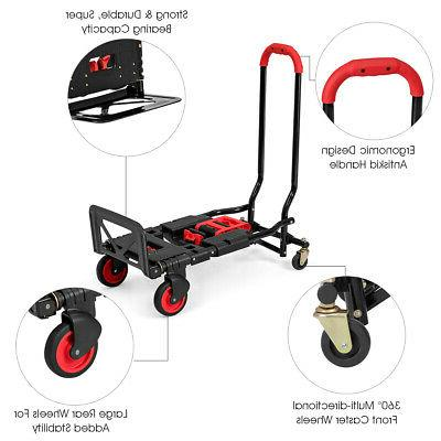 2 in 1 Folding Hand Multi-Position Duty Large Capacity