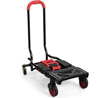 2 in Hand Truck Dolly Multi-Position Heavy Capacity