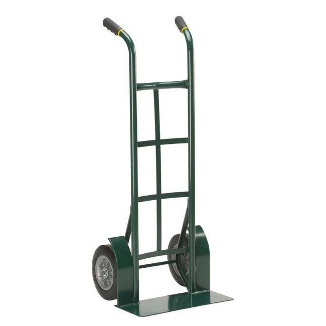 "2 Wheel Dolly Hand Truck Cart Mover Heavy Duty Steel 10"" Nev"
